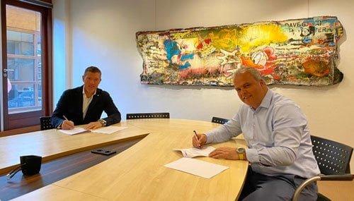 megalux ledschermen overeenkomst Mansveld